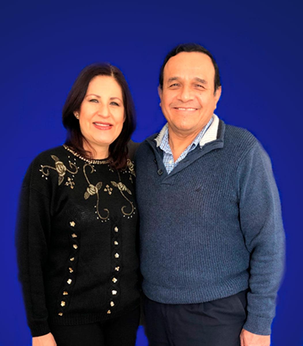 Antonio Badillo y Lulú Hurtado   Centro de Vida Cristiana
