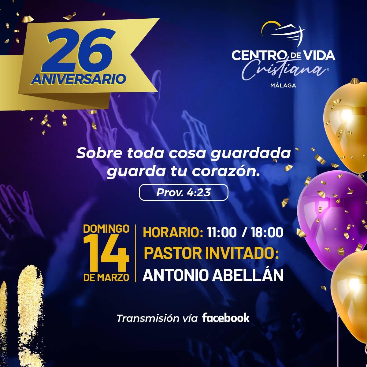 26 Aniversario CVC Málaga