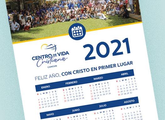Calendario CVC 2021 | Centro de Vida Cristiana