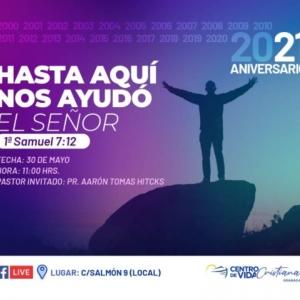 21 Aniversario CVC Granada | Centro de Vida Cristiana