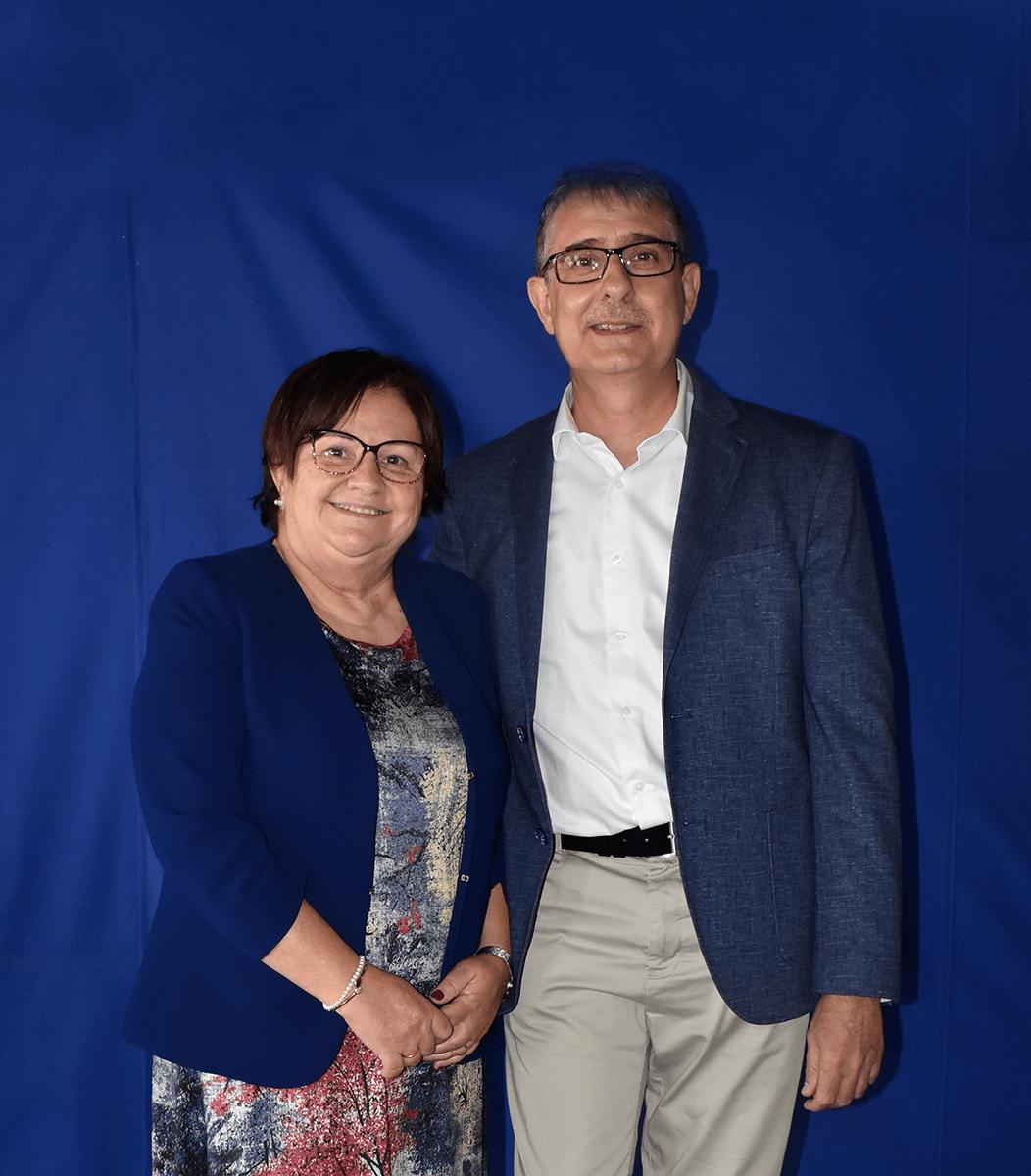 Antonio Abellán y Elvira Arias   Centro de Vida Cristiana