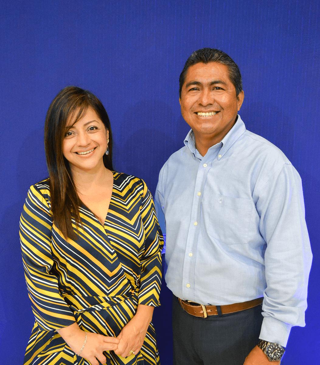 Manuel Martínez  y Jacqueline Torres   Centro de Vida Cristiana