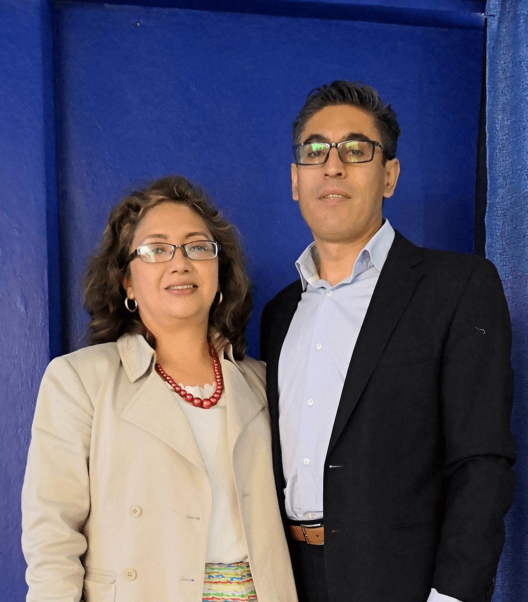 Juan Colin e Ivonne Peña   Centro de Vida Cristiana